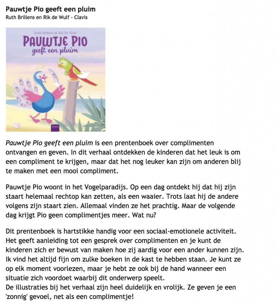 recensie pio 2 Jufanke.nl